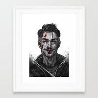 dragon age Framed Art Prints featuring Dragon Age - Dorian by eristhenat