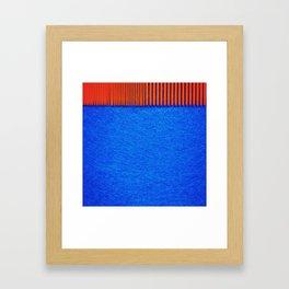 untangle or arrange. Framed Art Print