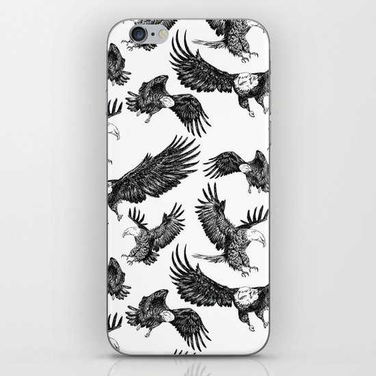 Eagles Pattern iPhone & iPod Skin