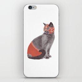 Cat Wrestler iPhone Skin