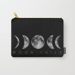 Moon Child Moon Phases Carry-All Pouch