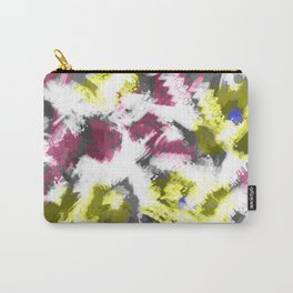 """""""Watercolor glamour . Maroon and yellow. Carry-All Pouch"""