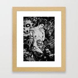 Sakuya Framed Art Print