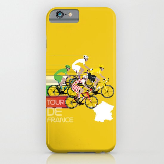Tour De France iPhone & iPod Case