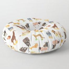 Safari Sightings Floor Pillow