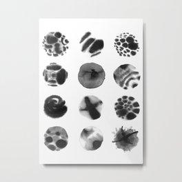 Year of Moons Metal Print