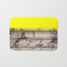 Greek Yellow Marble Bath Mat