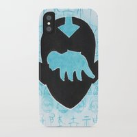 avatar the last airbender iPhone & iPod Cases featuring The Last Airbender by Carmen McCormick