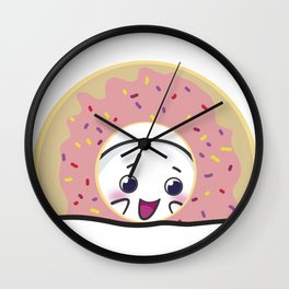 Ono and donut! Wall Clock