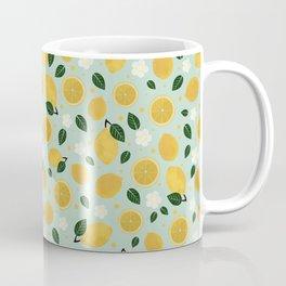 Summer Lemon Coffee Mug