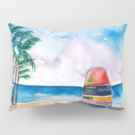Key West Florida USA Southernmost Point of The USA Pillow Sham
