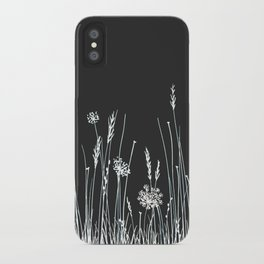 Gray Meadow iPhone Case