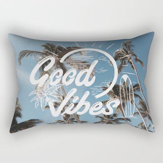 Good Vibes (summer) Rectangular Pillow
