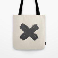 Black Cross Tote Bag