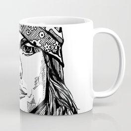 Axel Rose Portrait Coffee Mug