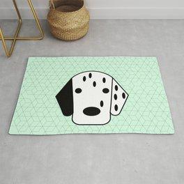 Pop Dog Dalmatian Rug