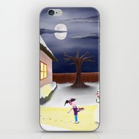 thanksgiving iPhone & iPod Skins featuring Happy Thanksgiving by blazingscribe