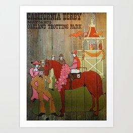 Derby Art Print