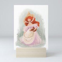 Cottagecore Witch/Mermaid Inspired  Mini Art Print