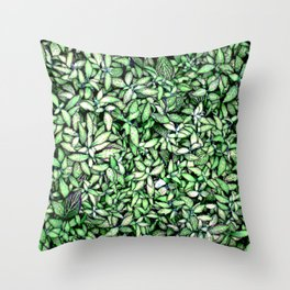 Leaves 2 Throw Pillow
