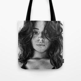 Camila Cabello Drawing Tote Bag