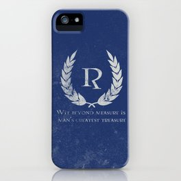 Wit beyond Measure iPhone Case