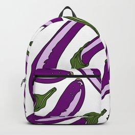 Purple Eggplants Backpack
