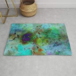 cool colors Rug