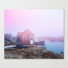 Life on the Coast Canvas Print