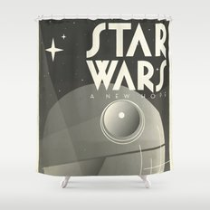 A new Hope Alternative Movie Poster Shower Curtain