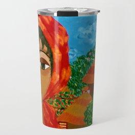 Sunflowers of Hope Travel Mug