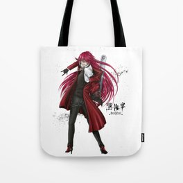 Grell : Red Death Tote Bag