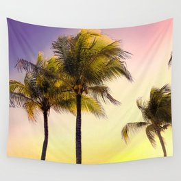 PURPLE AND GOLD SKIES 3 Wall Tapestry