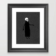 Skeleton Spirit Framed Art Print