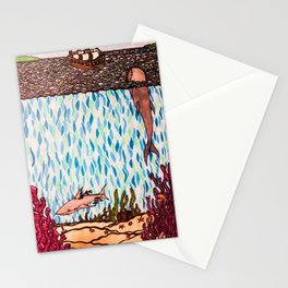 Under the Sea Shark & Whale Stationery Cards
