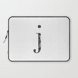 "j-ception - The Didot ""j"" Project Laptop Sleeve"