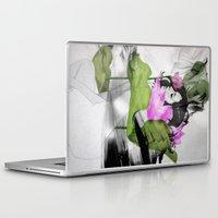 lotus flower Laptop & iPad Skins featuring Lotus by SEVENTRAPS
