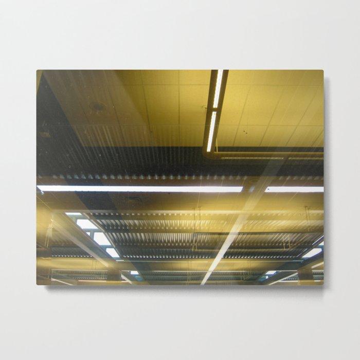 Reflective Metal Print