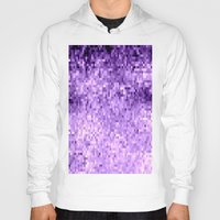 lavender Hoodies featuring LavendeR by Simply Chic