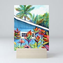 Hanalei Cottage Mini Art Print