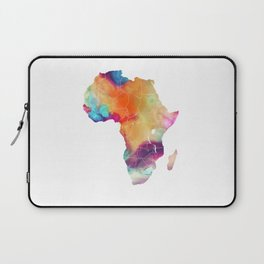 Africa Map 3 Laptop Sleeve