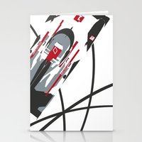 audi Stationery Cards featuring e-tron by Cale Funderburk