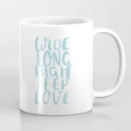 LOVE inifinite - BLUE Coffee Mug