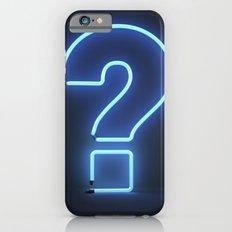 Question Mark (Neon) Slim Case iPhone 6s