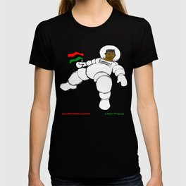 2014 RayGun81 Space Program (American Poverty + Fray and Tay) T-shirt