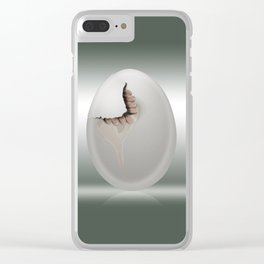 Hatched Clear iPhone Case
