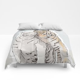 Tiger Love Comforters