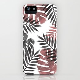 Tropical vision iPhone Case