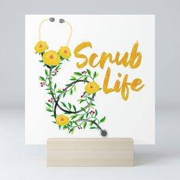 Scrub Life Mini Art Print