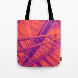 Indecisive, orange Tote Bag